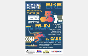 Bike & Run du Caux 2020. Accord prefecture.